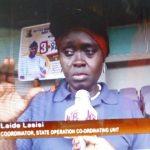 State Operation Coordinator Unit Mrs. Lasisi Olaide